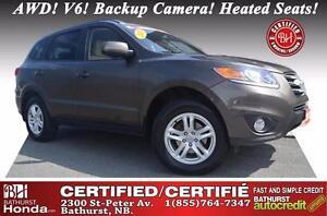 2012 Hyundai Santa Fe Certified! AWD! V6! Backup Camera! Heated