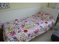 IKEA Flaxa single bed white children adult