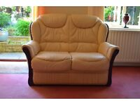 2 seater supersoft leather sofa