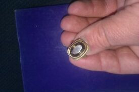 Smokey Quarts 9ct Gold Ring ( Fully Hallmarked Discount Maybe Offered )