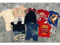 Baby boy 0-3 month summer outfit bundle