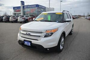 2012 Ford Explorer Limited | FWD | NAVIGATION | BLUETOOTH