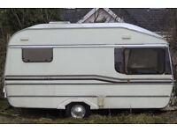 Caravan - Fairholme Curlew 2 berth in good condition (Cardigan)