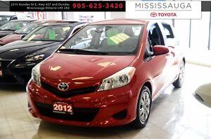 2012 Toyota Yaris 5dr HB Auto LE