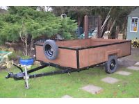 Box Trailer 6' x 9' Ply Lined Lift out Back