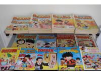 Beano and Dandy. 197 Comics and Summer specials – Mega Collection