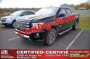 2015 GMC Canyon 4WD SLE Certified! Auto Start! Leather! Backup C