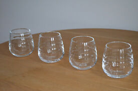 Beautiful Sophie Conran Balloon Tumblers/wine/water glasses x 4