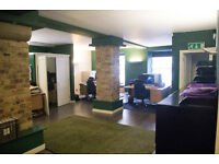 * 1625 SQ FT Furnished office space available within a stone's throw Royal Mile Edinburgh!*