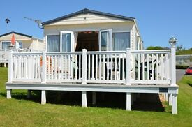 Location: DEVON CLIFFS HAVEN'S PRIVATE Luxurious Platinum Caravan With Veranda