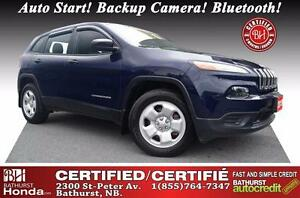 2015 Jeep Cherokee Sport Certified! Auto Start! Backup Camera! B