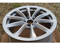 BMW Z4 1 Front & 1 Rear 8JX19/9Jx19 V-Spoke 296 Alloy Wheel Rims
