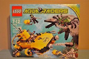 LEGO Aqua Raiders 7774 Crab Crusher Factory Sealed NEW NIB Submarine - Skeleton