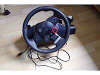 Racing wheel Logitech Driving Force GT