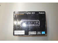 Roland Duo Capture EX UA-22 USB Audio/MIDI Interface