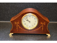 Japy Freres & Cie 8-Day Inlaid Mantel Clock - Serviced