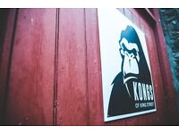 Kongs is looking for a Bar Staff :)