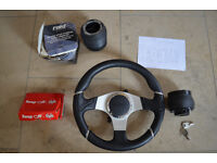 Momo millennium steering wheel, Snap off and Raid boss for VW