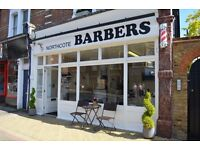 EXPERIENCED BARBER NEEDED