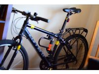 New mountain bike Carrera with all acessories