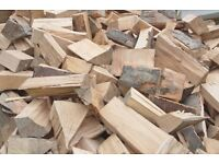 Well Seasoned Hard Wood Logs & Fire Wood (Oak and Ash ) Free Delivery Sussex
