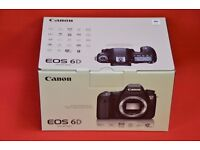 Canon EOS 6D Digital SLR Camera Brand New £1,240