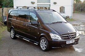 Mercedes Vito Sport LWB 2012 V6 3.0 Litre AUTO 224 Bhp(Sport X Spec) Price Inc VAT