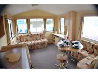 😀😀2 bed starter caravan for sale at Southerness holiday park - direct beach access from park😀😀
