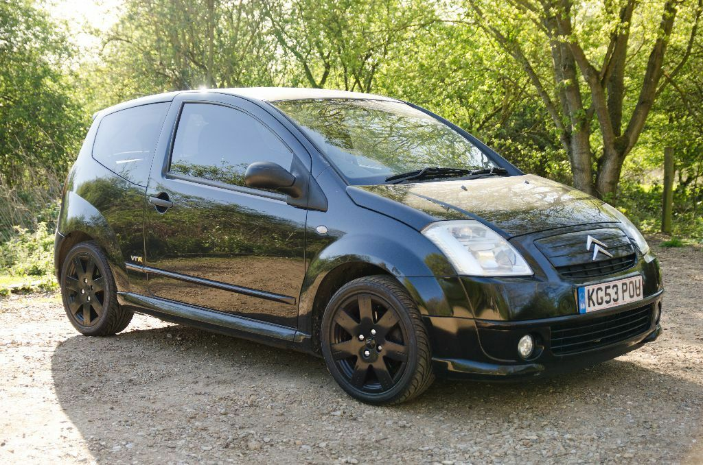 citroen c2 1 6 vtr 2003 53 petrol black semi automatic in norwich norfolk gumtree. Black Bedroom Furniture Sets. Home Design Ideas