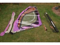 Neil Pryde 4.5m Fly + mast + extension