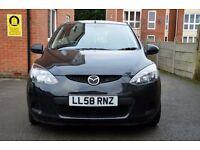 Mazda 2 TS 1.3 Manual Petrol Black 3 Door Hatchback
