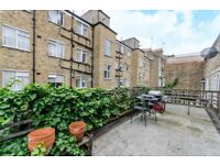 1 Bedroom Mews flat with Terrace and located Next to Marylebone Station, Baker St and regents Parks