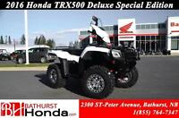 2016 Honda TRX500 Rubicon Deluxe - DCT Mag Wheels! Independant R