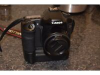 CANON 40D AND CANON BATTERY GRIP PLUS YONGNUO 50MM 1.8 LENS