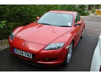 Mazda RX8 231PS, 2004, low mileage and well looked after
