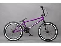 20'' adult Mafia Kush 1 bmx Bike purple £85 ono