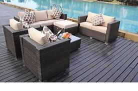 Brand new 8 seater rattan furniture
