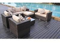 Brand new 8 seater rattan furniture
