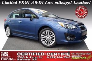 2013 Subaru Impreza 2.0i WOW!! Limited PKG! AWD! Low mileage! Na