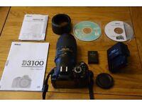 Nikon Digital SLR D3100 FOR SALE