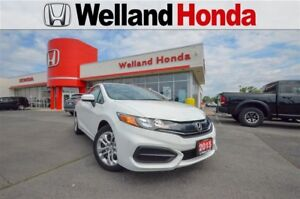 2015 Honda Civic LX | ONE OWNER | ACCIDENT FREE