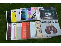 Creative Review magazines for Graphic Designers