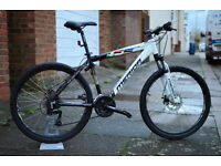 Beautiful MERIDA Matts TFS 100 Hardtail Disc brakes Aluminium MTB with slick tyres for only £175!