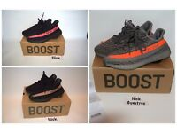 adidas Yeezy Boost 350 V2 UK3-12 Black / Red Black / Copper / Beluga - Delivery - Pirate Black
