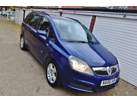 ** Bargain 2007 56 Vauxhall Zafira 1.6i Club Manual 7 Seats **