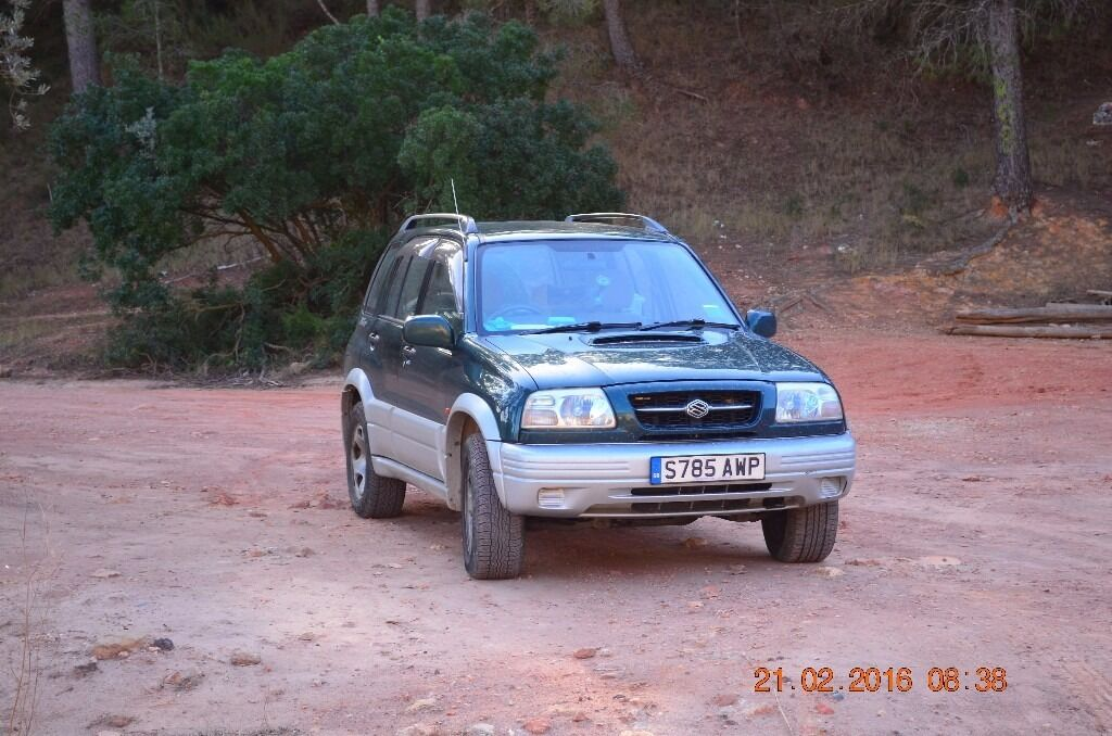 Suzuki Grand Vitara. Good condition for year. Economical, reliable. Older type. Will run on veg oil.