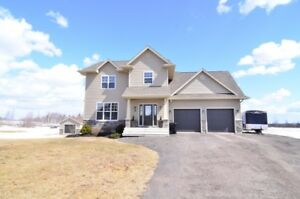 Great 2 storey country home with tons of options for sale