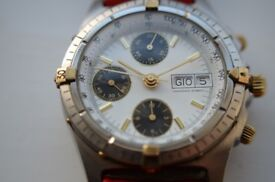 Swiss automatic mechanical chronograph wristwatch - Ex Mappin & Webb - '90s - Unbranded