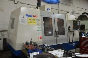 Daewoo Mynx-500 CNC Vertical Machining Center