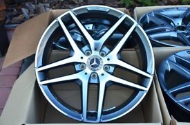 "18"" Alloy Wheels Mercedes AMG E-Class W212 Orginal"